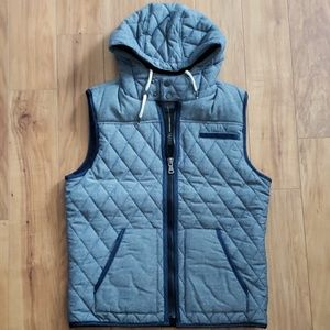 INC Quilted Hooded Vest